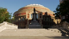 Static shot of Royal Albert Hall Stock Footage