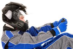 Racing driver - stock photo