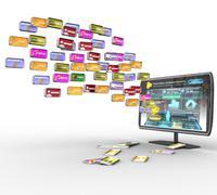Stock Illustration of LCD TV