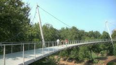 Bridge In Greenville South Carolina Stock Footage