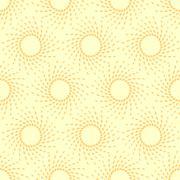 Sunny summer pattern, seamless - stock illustration