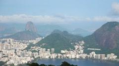 Classic Shot of Rio de Janeiro, Brazil - 1080p Stock Footage