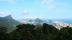 Establishing Shot Rio De Janeiro, Brazil - 1080p Stock Footage
