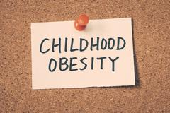 childhood obesity - stock photo