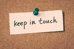Keep in touch Stock Photos