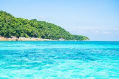 Beautiful island  at Ta chai Island, Phang Nga Thailand Stock Photos