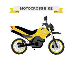 Stock Illustration of Vector motorcycle illustration. Moto bike isolated on white background