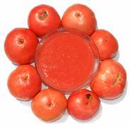 Tomato sauce - stock photo