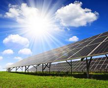 Solar panels Kuvituskuvat