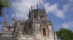 Quinta da Regaleira - castle timelapse Stock Footage