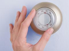 Home Thermostat - stock photo