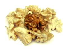 Walnut kernels - stock photo