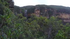 Wentworth Falls Blue mountains Australia  Stock Footage