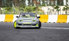 Apex Masters Turkish Drift Championship - stock photo