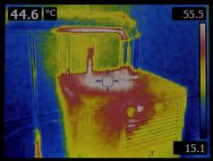 Heat Dissipation Thermal Image Stock Photos