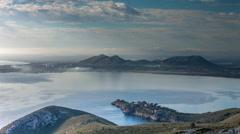 Cap formentor sunrise coast sea mallorca water Stock Footage