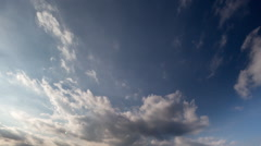 Clouds sky weather climate natural Stock Footage