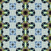 Stock Illustration of Kaleidoscopic ornamental pattern