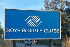 Boys & Girls Club Sign and Logo Kuvituskuvat