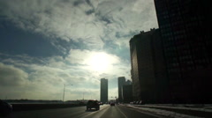 Lake Shore Drive in Chicago, IL - stock footage