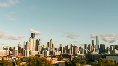 Chicago Downtown steady Time Lapse with dynamic clouds - stock footage