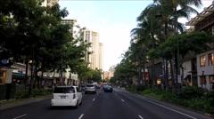 Waikiki POV Stock Footage