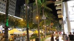 Waikiki Time Lapse Stock Footage