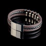 Bracelet on black background - stock photo