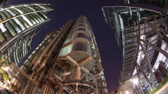 Stock Video Footage of lloyds london bank banking city urban architecture