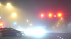Fully smog of traffic flow in Coquitlam BC Canada with 4k resolution Stock Footage