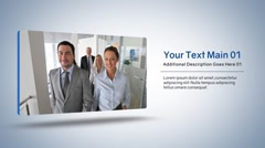 Clean Corporate Presentation & Business Commercial Intros Slideshows Stock After Effects