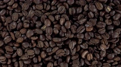 Stock Video Footage of Rotating Coffe Beans (not loopable, 4K)