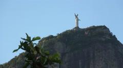 Christ The Redeemer / Cristo Redentor Focus, Rio de Janeiro Stock Footage