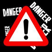 Attention sign. Stock Illustration