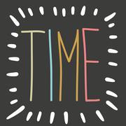 time background. - stock illustration