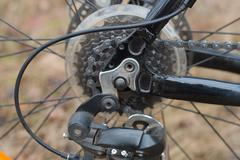 Disk brakes of the bicycle Kuvituskuvat