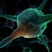 Neurons abstract background Stock Illustration