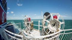 Stock Video Footage of shipping passenger ferry transportation navigation