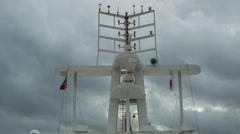 Stock Video Footage of radar shipping passenger ferry transportation navigation