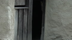 Arrowtown Chinese Settlement - home, Arrowtown, zoom out Stock Footage