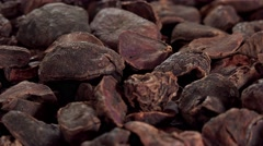 Rotating Kola Nuts (seamless loopable, 4K) Stock Footage