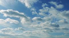 Massive Cloudscape Timelapse Stock Footage