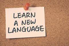 Learn a new language Stock Photos