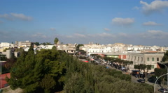 View of the city of Nardo', in southern Italy Stock Footage