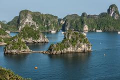 Enchanting Ha Long Bay Stock Photos