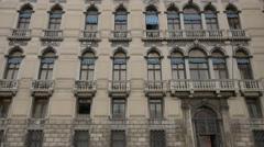 Palazzo Labia in Venice Stock Footage