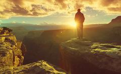 Hike in Grand Canyon Kuvituskuvat