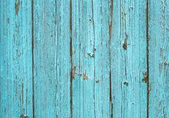 Stock Photo of Blue old painted wood plank texture