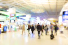 Stock Photo of airport boarding area Blurred background