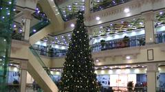Shopping center Passage - Yekaterinburg Stock Footage
